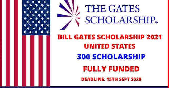 برنامج بيل غيتس للمنح الدراسية 2021