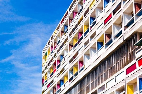 brise soleil-Le Corbusier-Unitè d'Habitation-Marsiglia