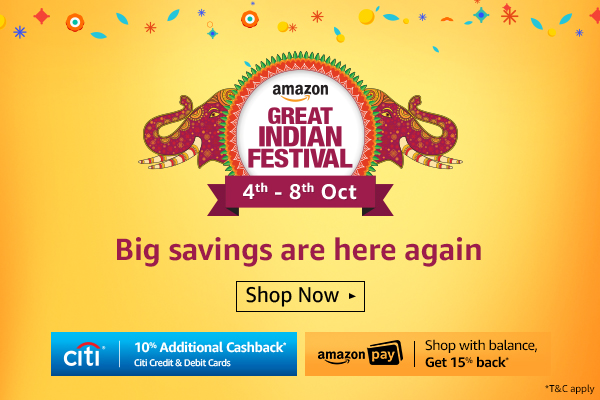Diwali comes early as Amazon announces another Great Indian Festival starting October 4