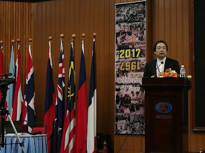 Dr Tairo Nomura, pensyarah daripada Saitama University, Jepun