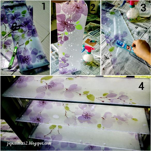 Tutorial Glass Sticker