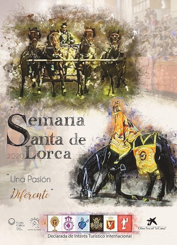 Cartel de la Semana Santa de Lorca 2020