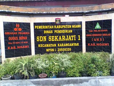 Pengumuman Penerimaan Raport SDN Sekarjati 1 Kecamatan Karanganyar Tahun Pelajaran 2019/2020