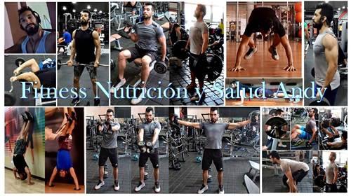 Canal de youtube Fitness Nutrición y Salud Andy