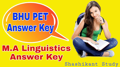 BHU-M.A-Linguistics-Answer-Key