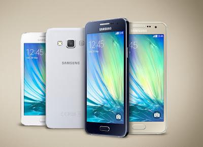 Samsung A3 Desain Body Nampak Seperti S6 Edge