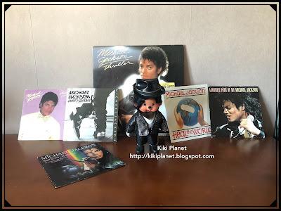 kiki monchhichi jouet vintage Michael jackson, bambi, king of pop, monchael, thriller