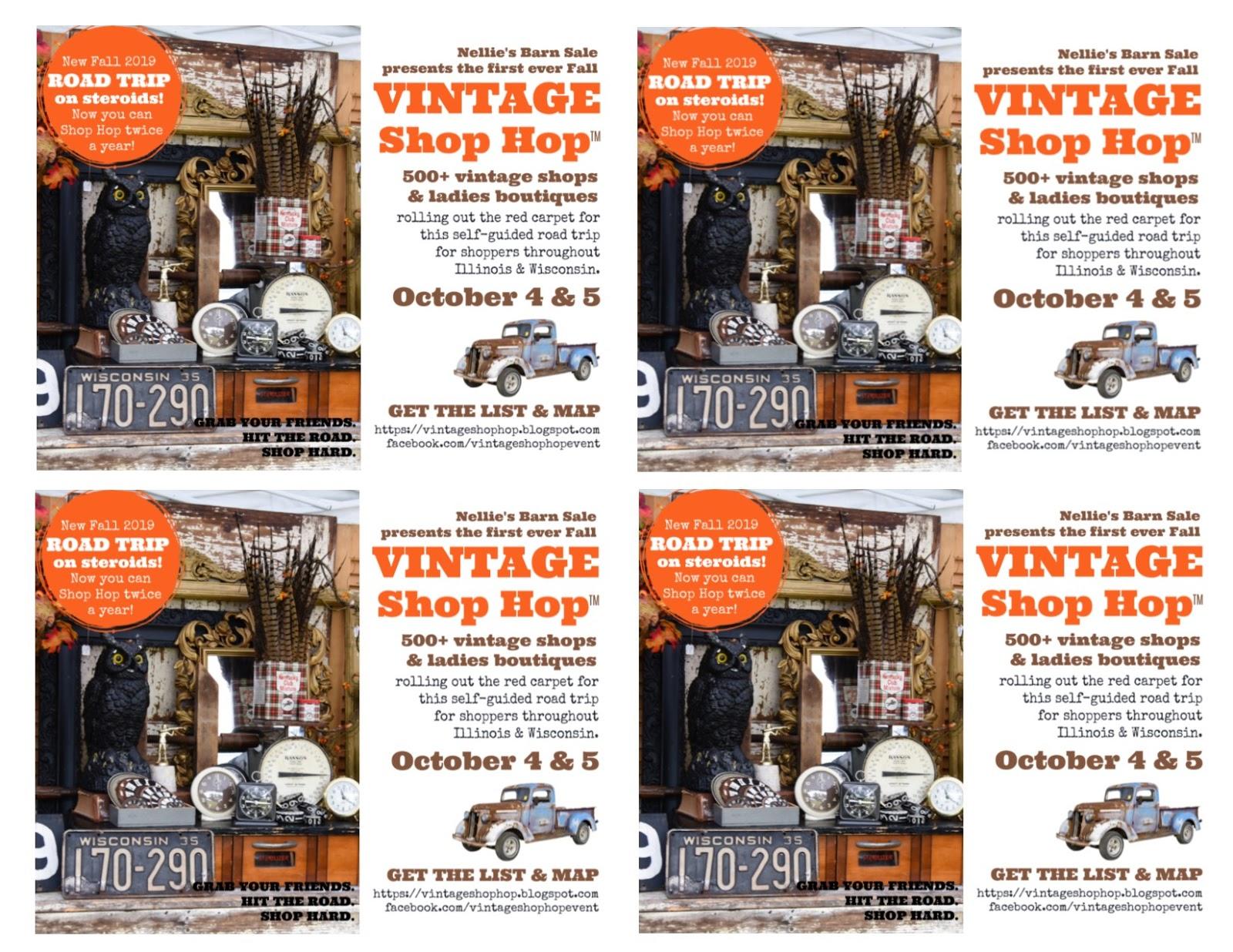 Vintage Shop Hop (TM): Shop Owner Tools