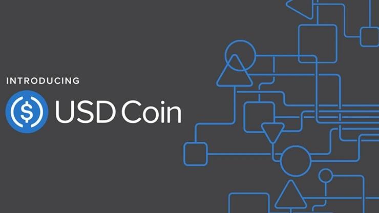 Visa и Coin (USDC)