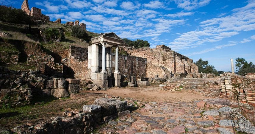 elaborate roman copper mining operation uncovered in spain. Black Bedroom Furniture Sets. Home Design Ideas
