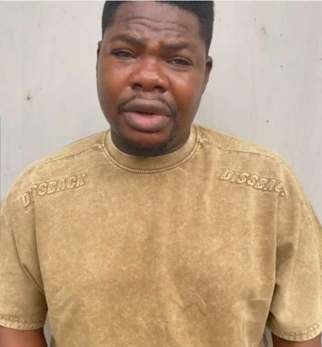 Comedian Macaroni Speaks For The First Time After He Was Released From Lagos Police Station, See What He Said