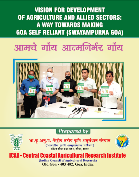 A Vision Document to Make Goa Self-Reliant in Agriculture Released