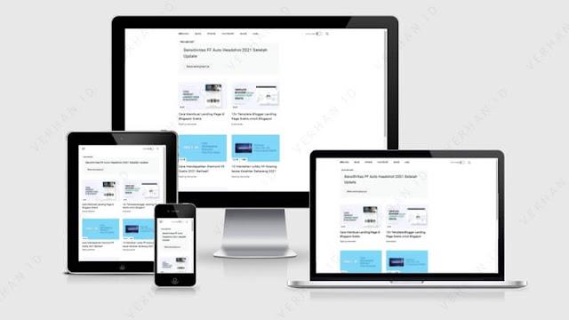 template blog verhan responsive