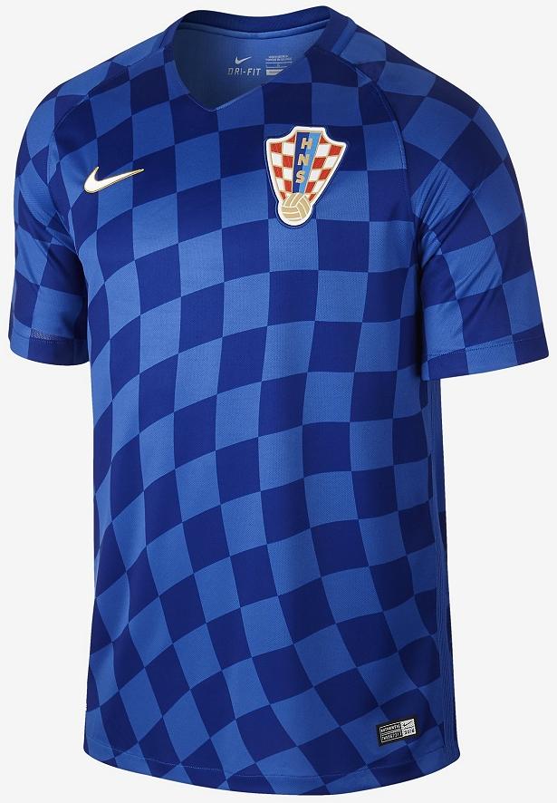 Nike divulga as novas camisas da Croácia - Show de Camisas 143817bc41f79