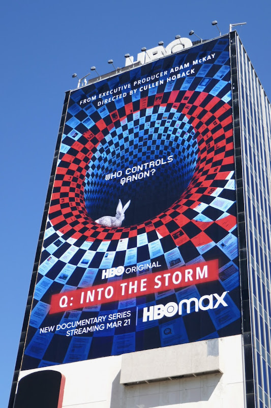 Giant Q Into the Storm series premiere billboard