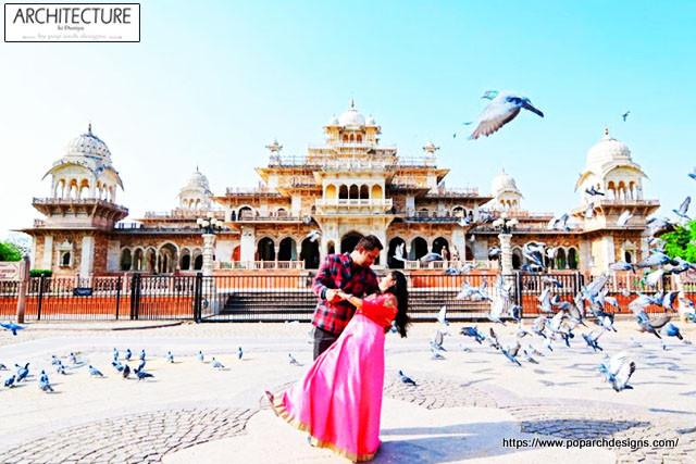 jaipur pink city - albert hall