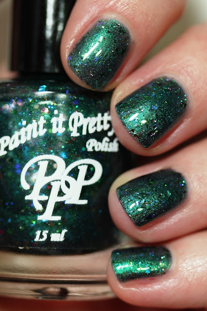 Paint It Pretty Polish Smaragdus swatch by Streets Ahead Style