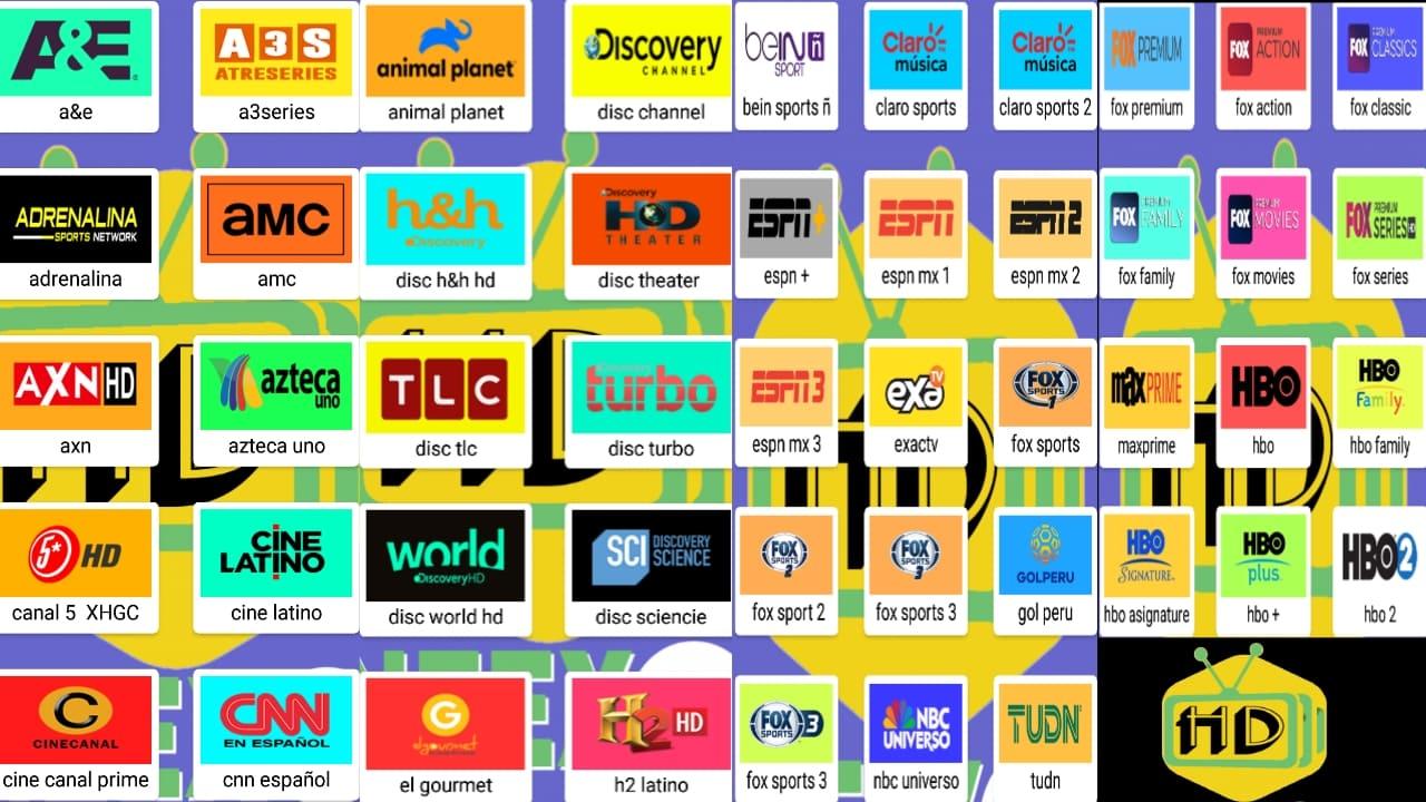 HD Neex Tv اللاتيني العملاق لمشاهدة قنوات لاتينية مجانا