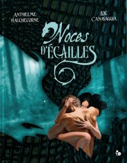 Couverture du artbook Noces d'écailles de Hauchecorne