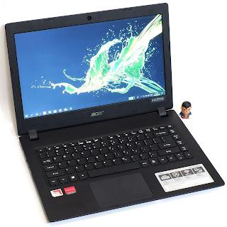 Laptop Acer Aspire A314-21 AMD A9 Fullset