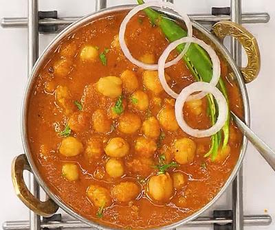 how to make chole masala at home