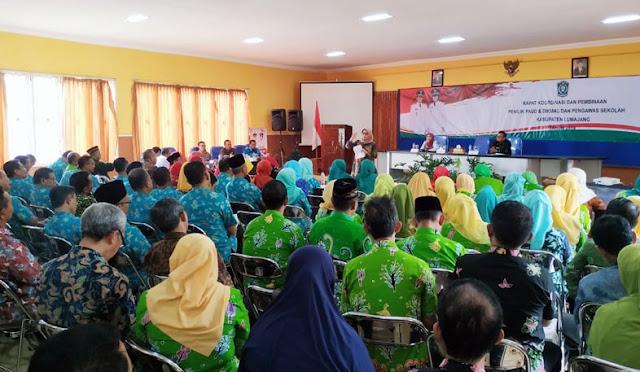 Rapat Koordinasi Penilik PAUD dan Pengawas Sekolah