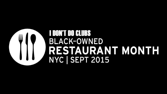 Eating Fabulously, Christopher Stewart, I Don't Do Clubs, Black Owned Restaurant Month