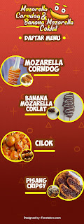 Desain X Banner Usaha Makanan Terbaru