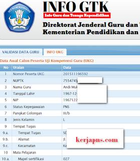 tampilam data info gtk http://info.gtk.kemdikbud.go.id/