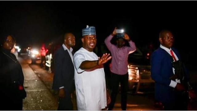 Yahaya Bello turns traffic warden on Lokoja-Abuja road after 2-day gridlock