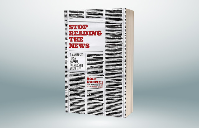 توقفوا عن قراءة الأخبار بيان لحياة أكثر سعادة وهدوءًا وحكمة