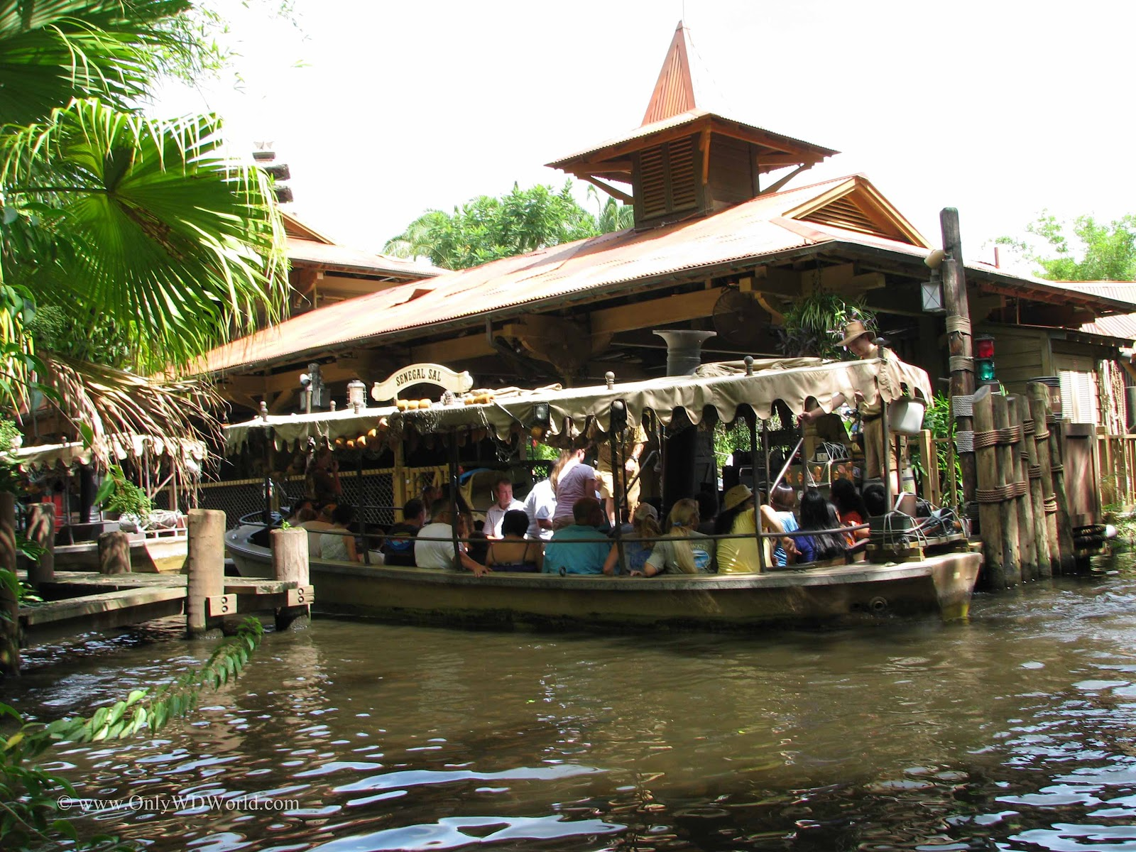 Jungle Cruise Walt Disney World Opening Day