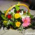 Καλάθι με λουλούδια