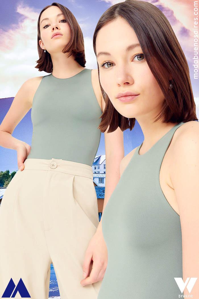 looks de verano 2022 mujer juvenil