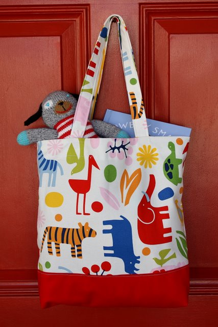 Simple Tote Bag Tutorial