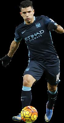 Sergio Aguero - Manchester City v5