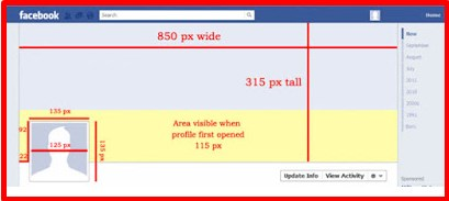 Facebook Profile Pic Size