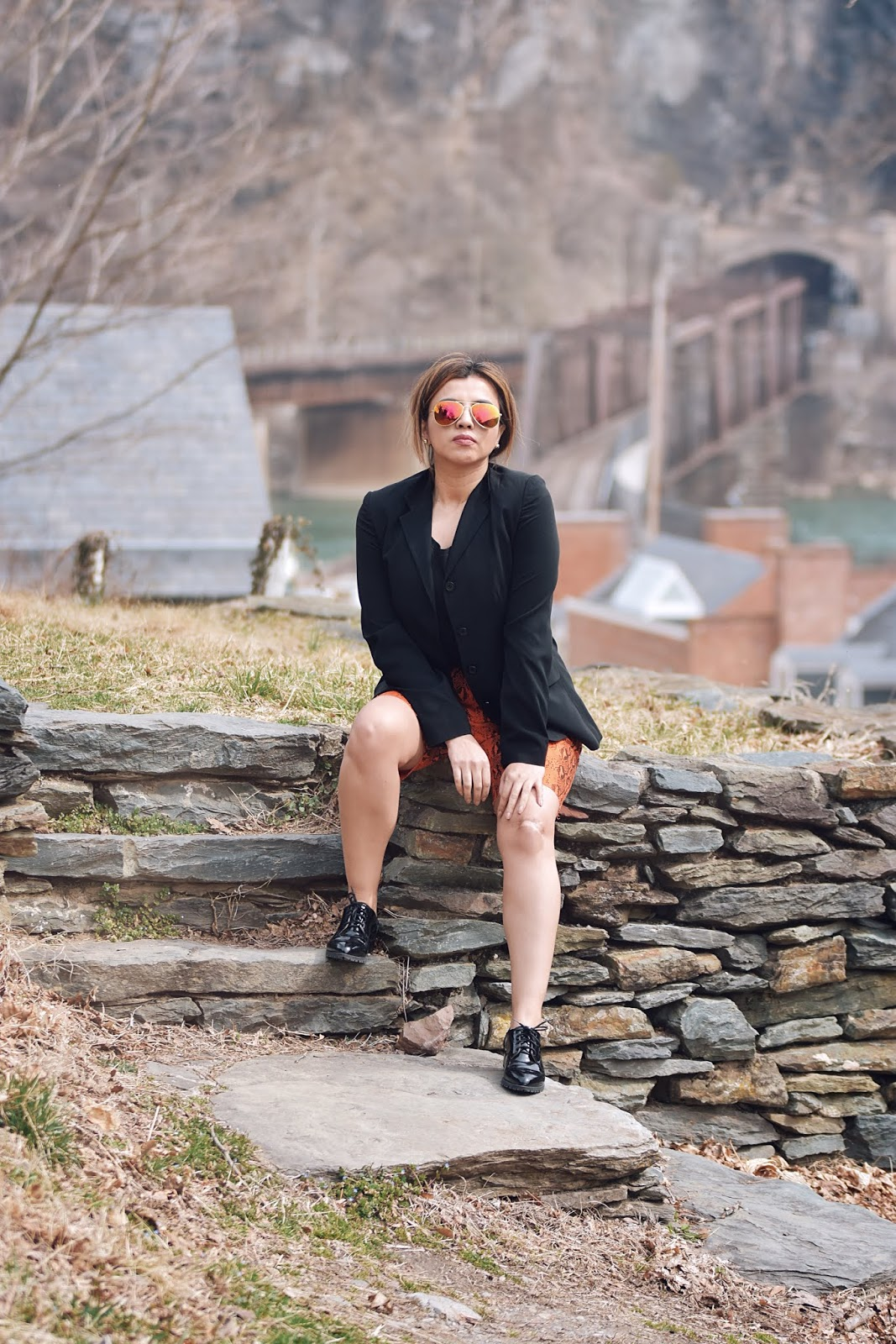 Tres Tendencias En Una Sola Prenda-MariEstilo-SheIn-Fashion Blogger-Travel blogger-traveller-west virginia-harpersferry-roadtrip-blogger style-snake print-tendencias 2019-