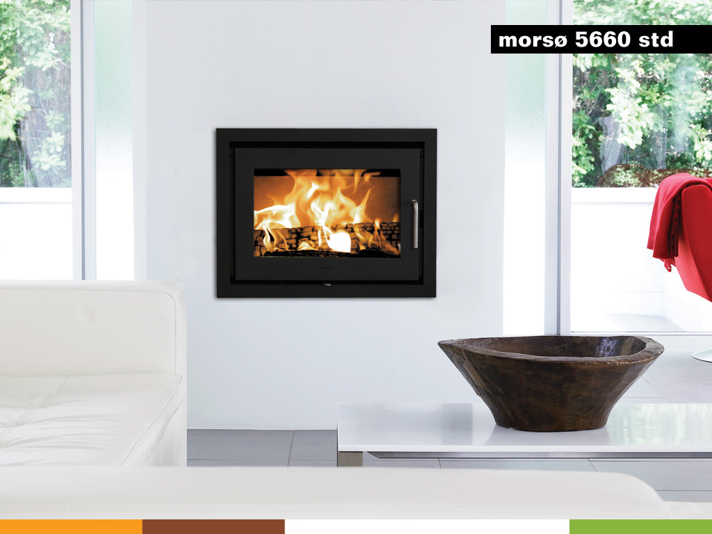 Morso Energy Efficient Wood Stoves Morso 5660 Fireplace