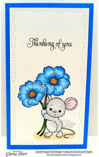 Featured Card at Crafty Sentiments Designs Challenge Blog