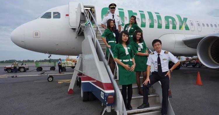 Lowongan Kerja Citilink Indonesia Untuk Tamatan SMA/SMK