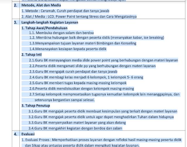 Download RPL Bimbingan Konseling Pilihan Karir Setelah Lulus SMP/MTs | RPL BK 1 Lembar Kelas 9 SMP/MTs Semester 2