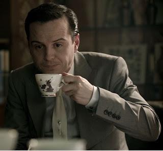 jim moriarty drinking tea 221b baker street bbc sherlock