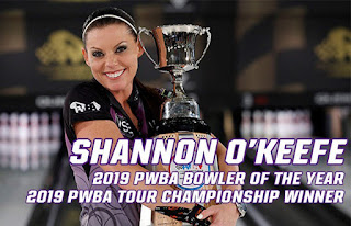 Shannon O'Keefe, 2019 PWBA Tour Champion and PWBA Tour Player of the Year #NASCAR