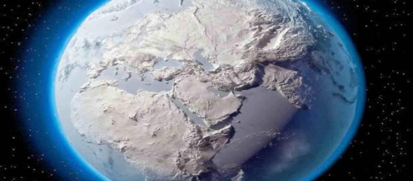 H σκόνη ενός αστεροειδούς έφερε την εποχή των Παγετώνων στη Γη