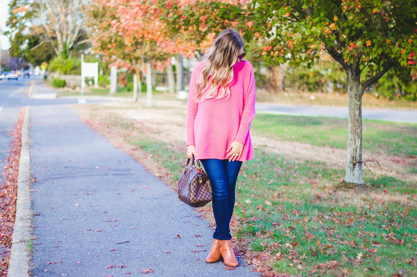 beb4c6ab59 Style Cubby - Fashion and Lifestyle Blog Based in New England: Hot Pink  Sweater