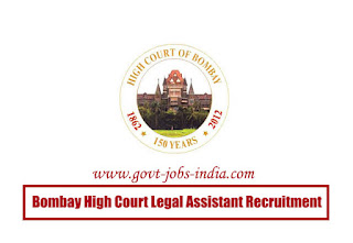 Bombay High Court Legal Assistant Recruitment 2020