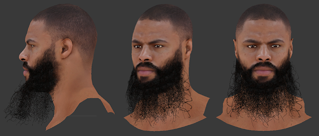NBA 2K18 Tyson Chandler HD Cyberface
