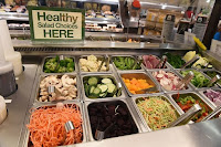 "Studies have shown that labeling food choices as ""healthy,"" like salad bars, does not make them more attractive. (Credit: Getty Images) Click to Enlarge."