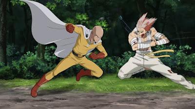 One-Punch Man: Saitama VS Garou